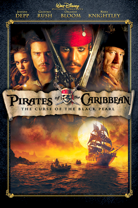Film : Pirates des Caraïbes 1 - La Malédiction du Black Pearl