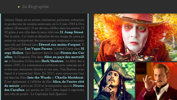 Acteur : Johnny Depp