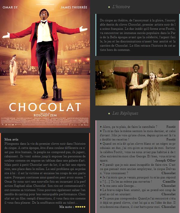 Film : Chocolat