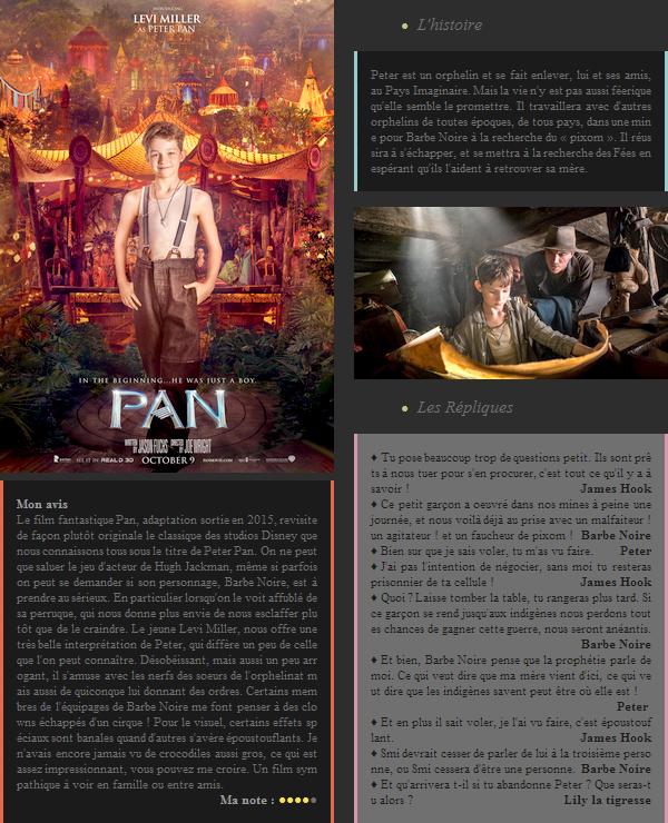 Film : Pan