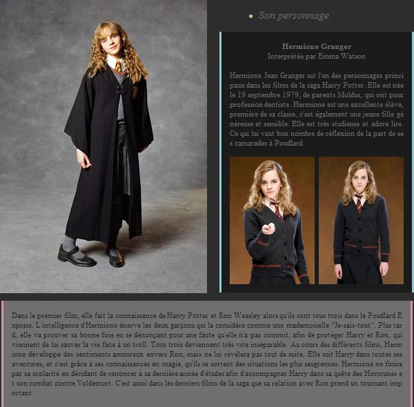 Personnage de Harry Potter : Hermione Granger