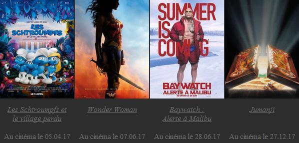 Les films attendus en 2017