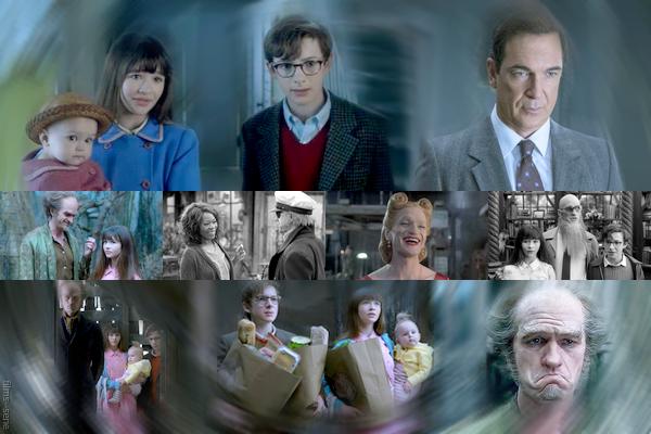 Série : Les désastreuses aventures des orphelins Baudelaire - Saison 1