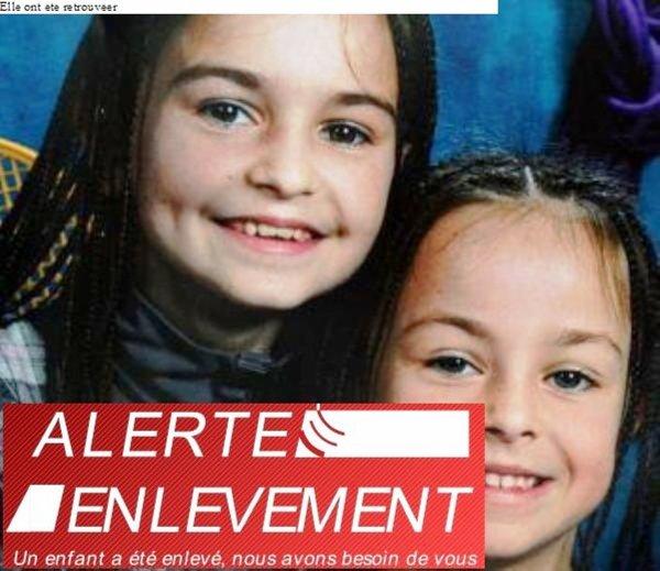ALERTE ENLÈVEMENT DU 18 SEPT 2011 FAITES...