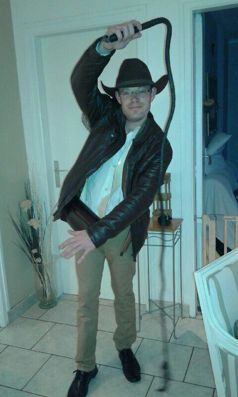 Moi en mode Indiana Jones