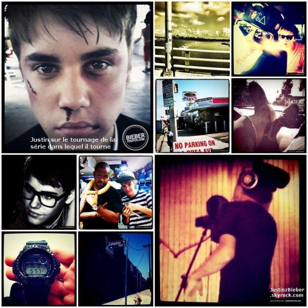 Justin poste régulierment des photos sur son compte Instagram, et pour rattraper mon retard, voici la totalité de ces photos :)