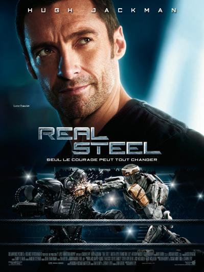Sortie cinema Mercredi 19 Octobre 2011 : Real Steel.