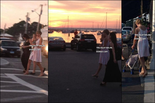 15/07/2013 : Taylor S. a été pris en photo par des fans à Rhode Island, avec de Joy Williams des Civil Wars.