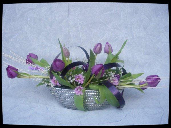 Petite composition violette