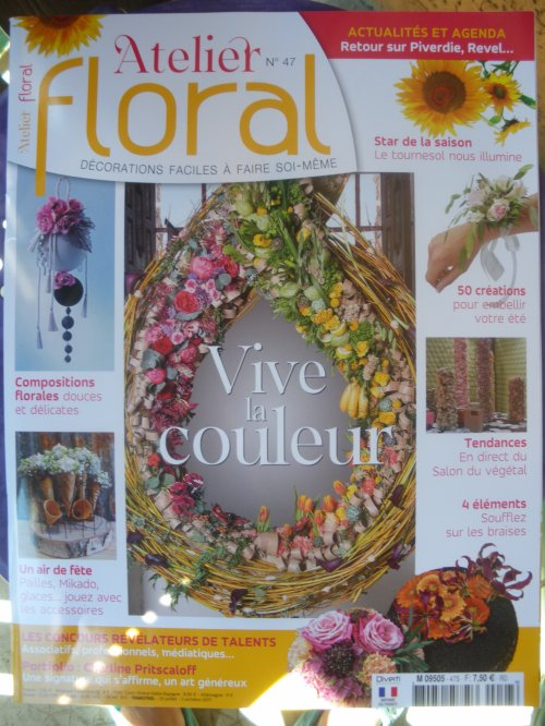 Magazine Atelier floral n°47
