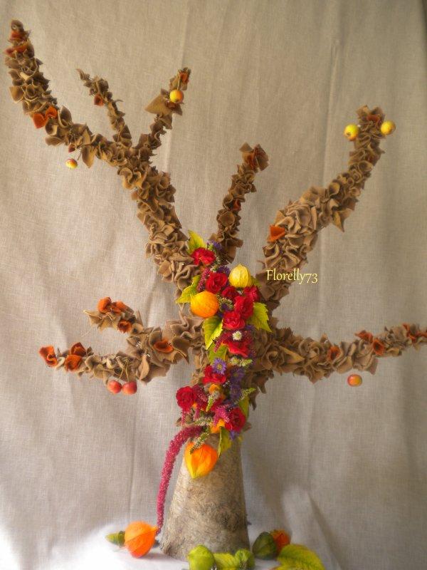 Auprès de mon arbre aux couleurs de l'automne