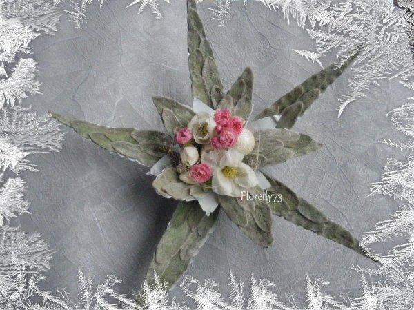 Fabrication d'une étoile  pour Noël