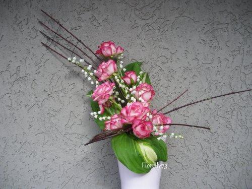 Roses et muguet