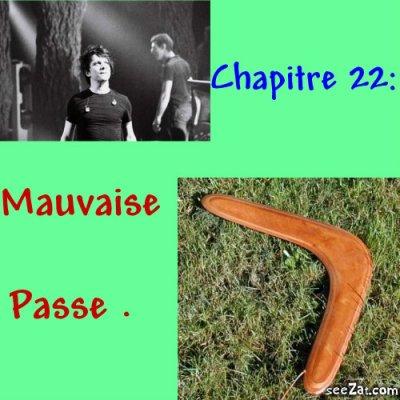 Chapitre 22 : Mauvaise Passe.