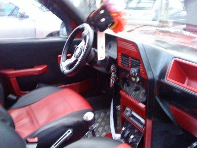 309 rouge de l'intérieur