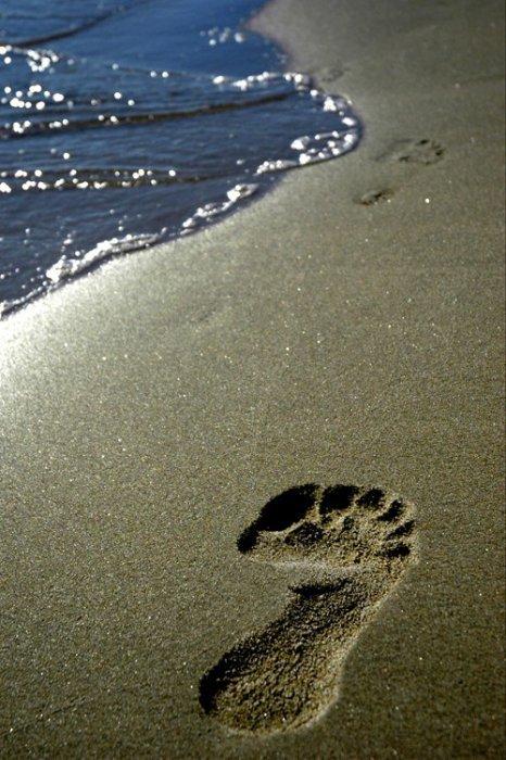 [ TèMOIGNAGE ] des pas dans le sable...