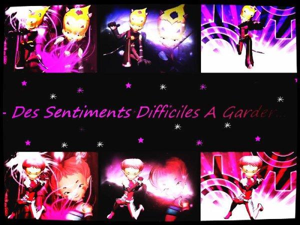 Chapitre 8 !! - Des Sentiments Difficiles A Garder... -