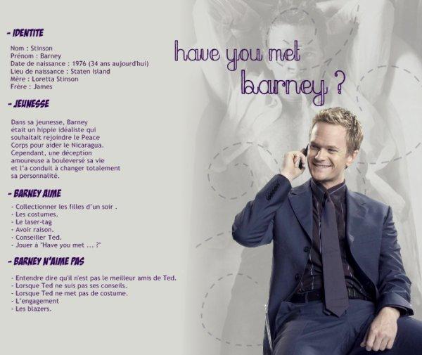 Have you met Barney ?