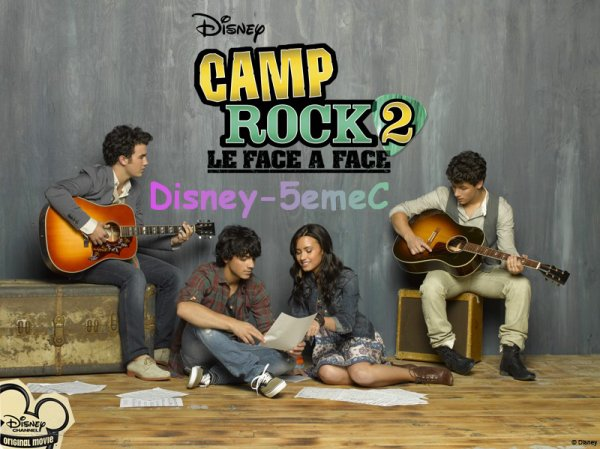 Camp rock 2 : LE FACE A FACE