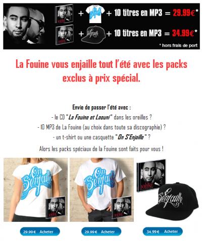 Pack La Fouine.