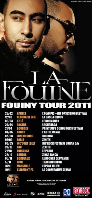 Tournée La Fouine.