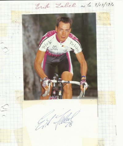 mes autographes de cyclistes  Z