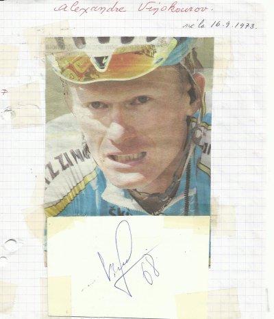mes autographes de cyclistes V