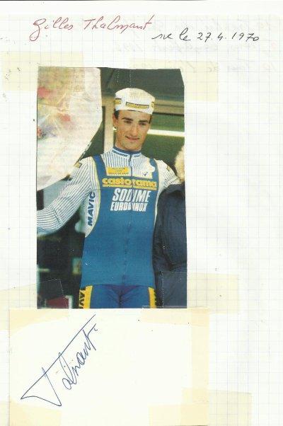mes autographes de cyclistes  T