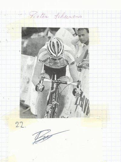 mes autographes de cyclistes S