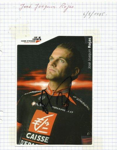mes autographes de cyclistes  R