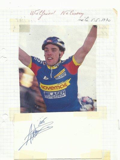 mes autographes de cyclistes  N