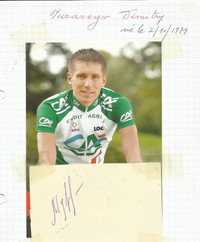 mes autographes de cyclistes  M