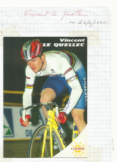 mes autographes de cyclistes  L