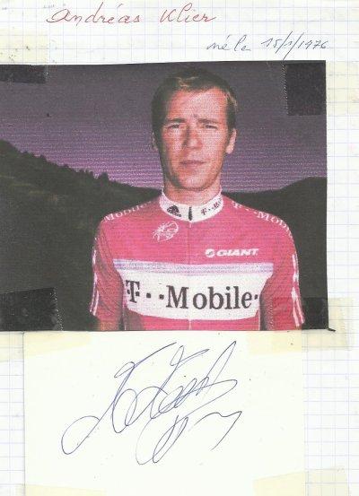 mes autographes de cyclistes  K