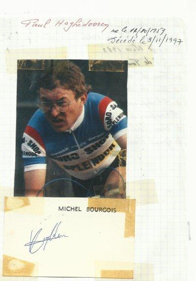 mes autographes de cyclistes  H
