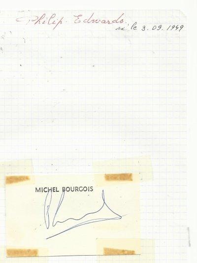 mes autographes de cyclistes   E