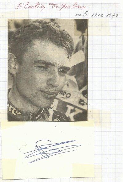mes autographes de cyclistes  D