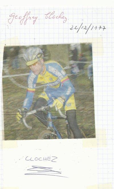 mes autographes de cyclistes  C