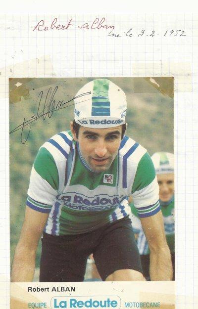 mes autographes de cyclistes   A