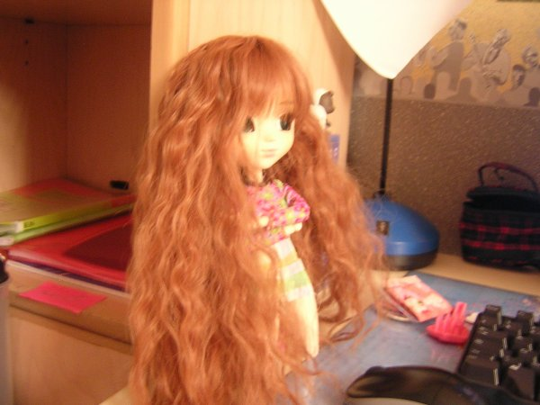 Lily Rose et sa new wig :)