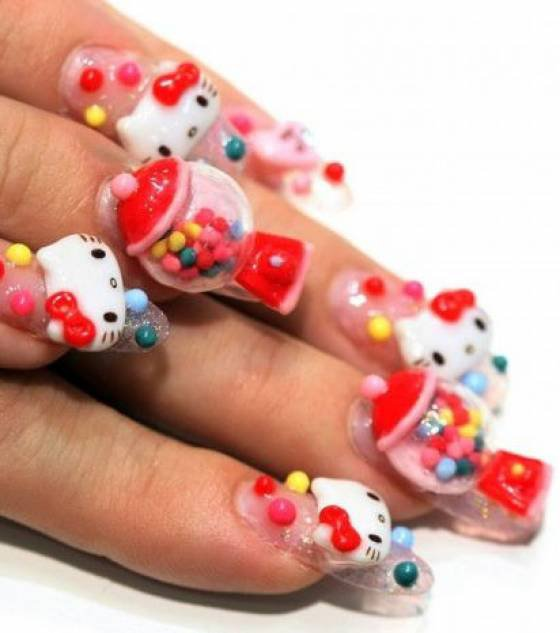vernis a ongles et stace