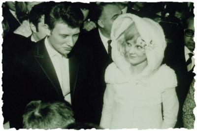 johnny hallyday et sylvie vartan mariage de stars. Black Bedroom Furniture Sets. Home Design Ideas