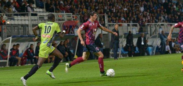 Coupe de La Ligue : Clermont 0 -1  Tours