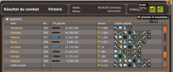 "Kolosso double chal enfin, et ""pvp"""