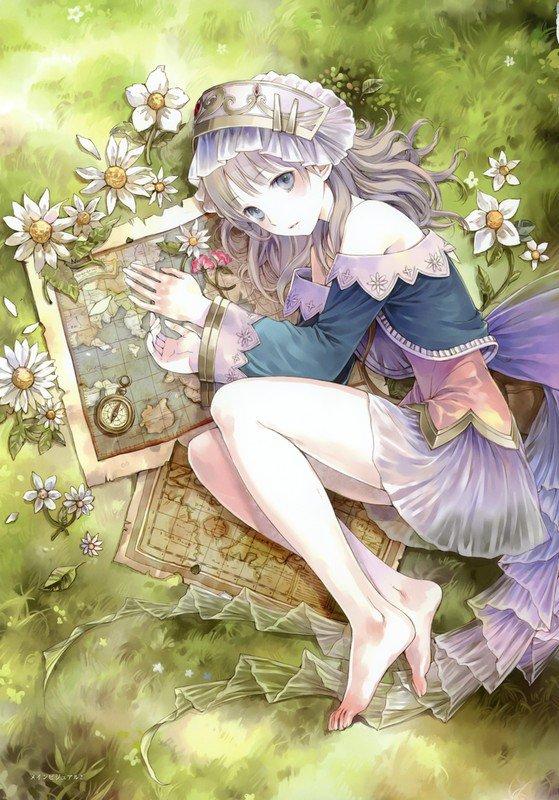 Une gaisha, Un kimono porter par une fille que vous conaissez tous, La petite sirène, Géographie dessiné ♥