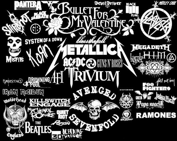 Metal-RockBands