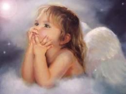ma fille et un ange parmi les anges