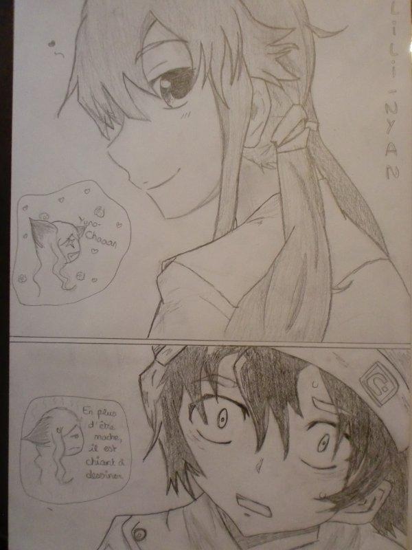 Présentation manga : Mirai Nikki