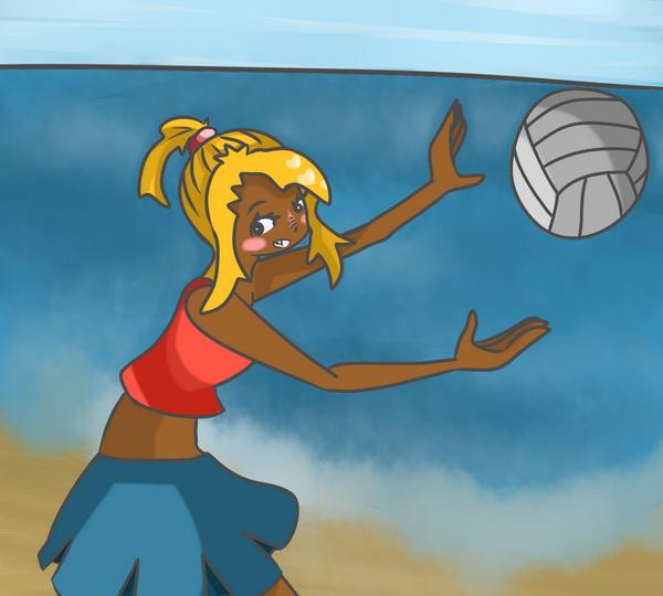 Je déteste le volley en vrai, mais chut ~ ♥
