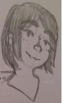 Je dessine plus, c'est terrible.
